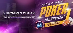 Turnamen Poker Setiap Hari !